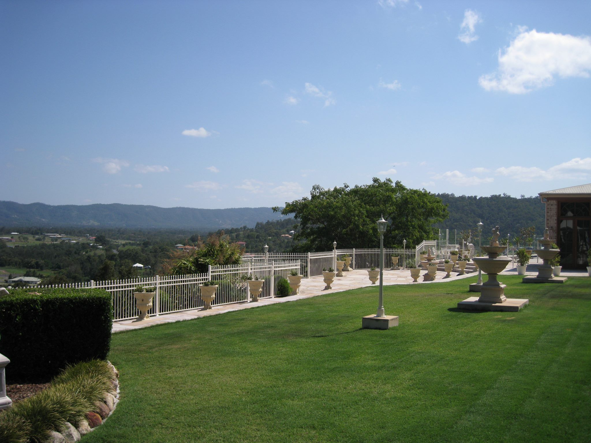 Topiaries Beaumont House Samford Magnificent Views