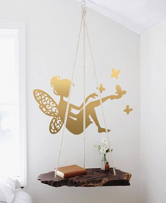 Simple Wall decal Wall Art Wall decal for nursery Baby room decal tinkerbell Picture - Popular baby room decals Style