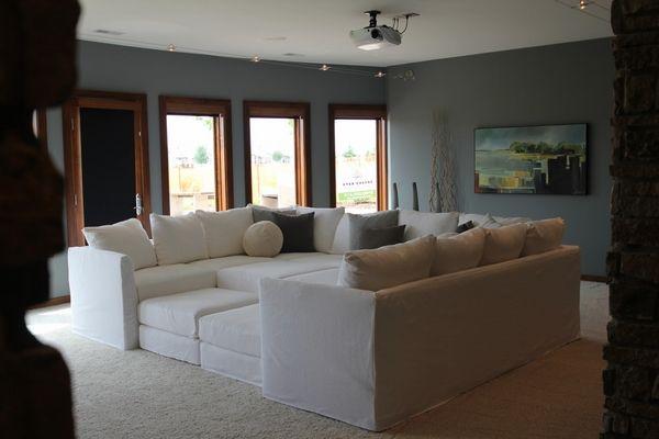 Elegant Home theater Seating Ideas