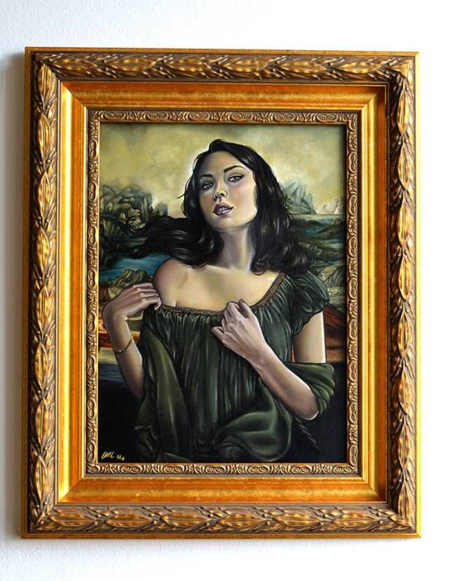 0370 [Christina Lank] Mona unveiled (with frame)