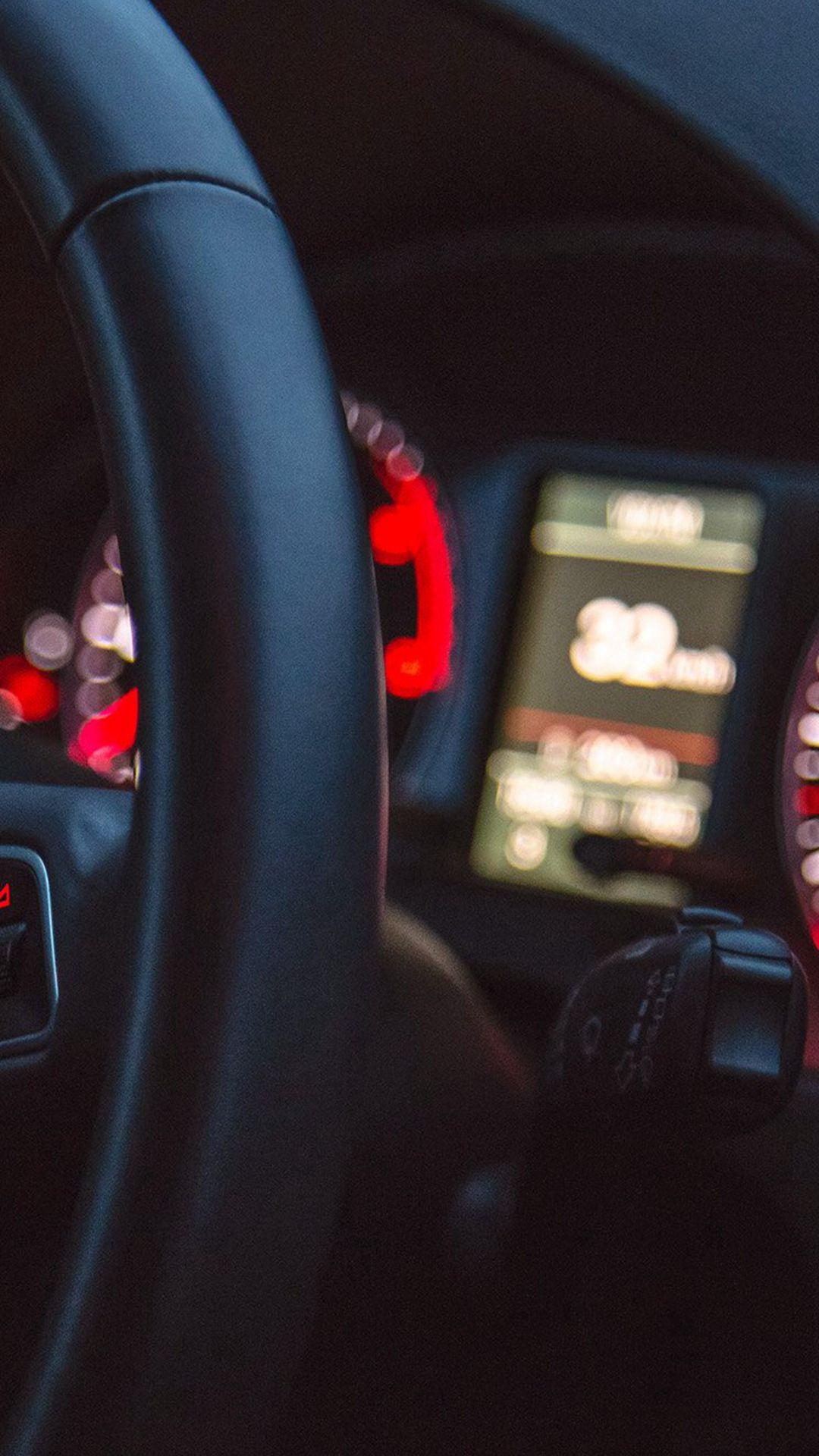 car audi drive interior motor man #iphone #6 #plus #wallpaper
