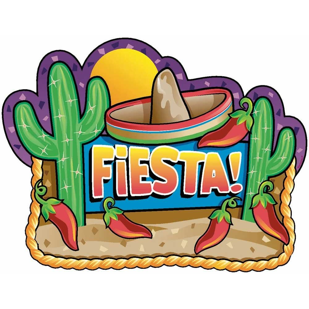 Mexican Fiesta Party Cutouts | - DIY | Mexican fiesta ...