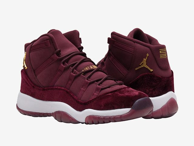 54755d61fb94f0 Our Best Look Yet At The Air Jordan 11 GS Heiress