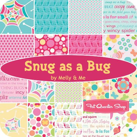Snug as a Bug / Melly & Me for Riley Blake Designs - Fat Quarter Shop
