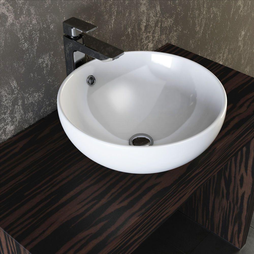 VILSTEIN© Keramik Waschbecken Aufsatzwaschbecken Aufsatz ...