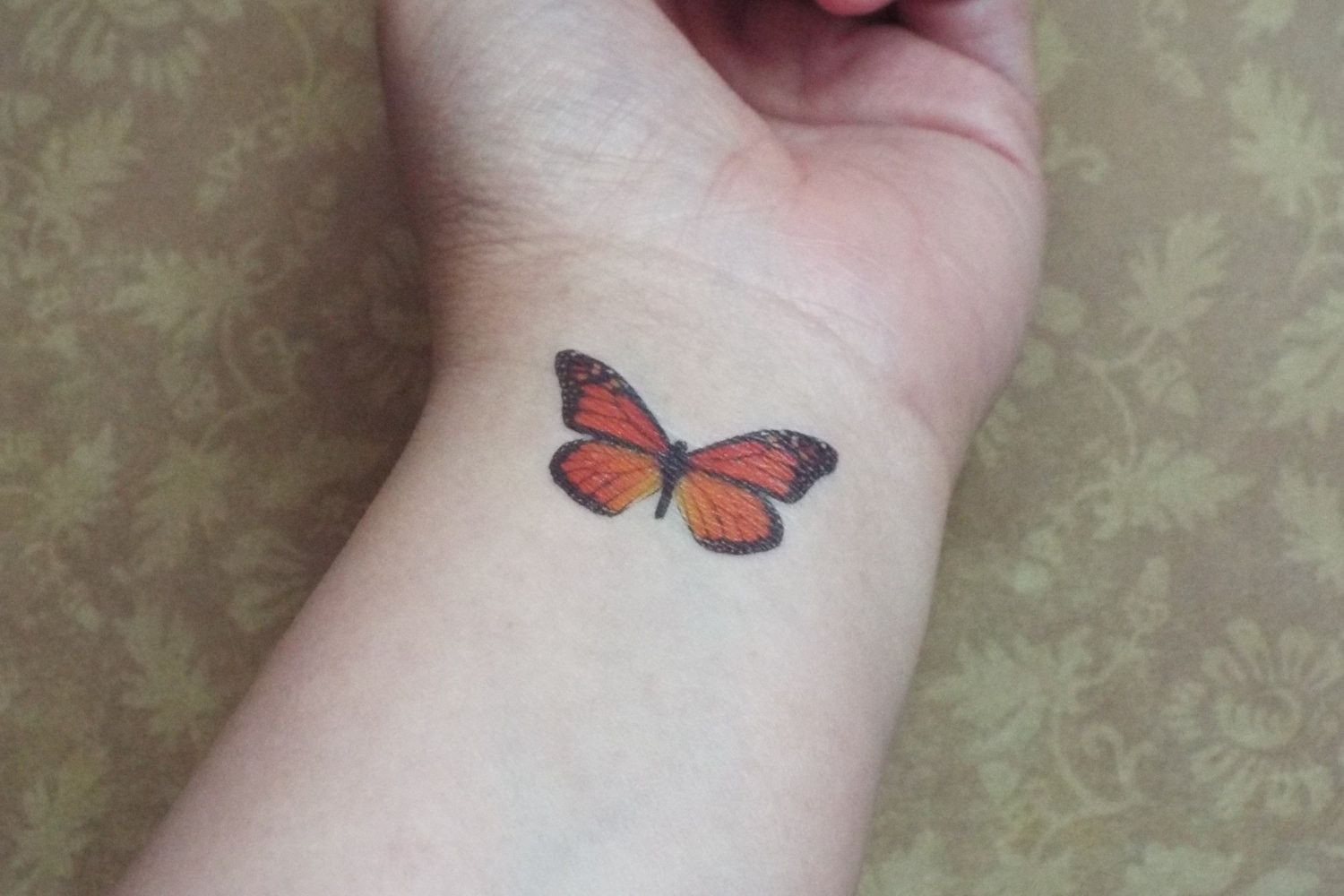 Monarch Butterfly Tattoo Temporary Set of Three …