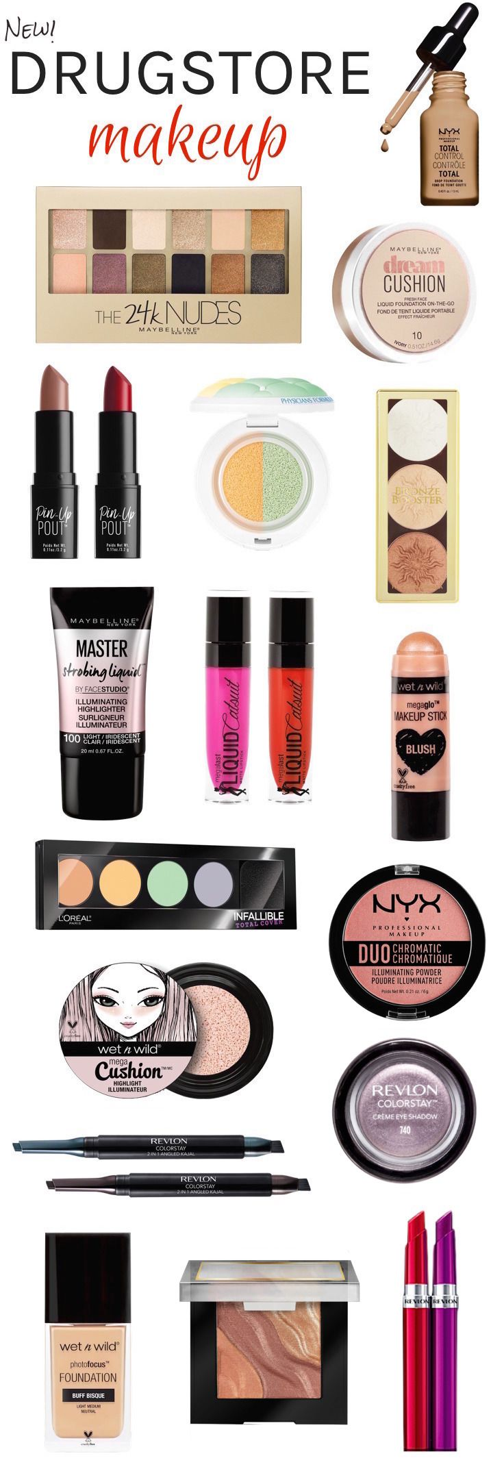 Drugstore Makeup Dupes: 17 New Drugstore Beauty Buys You Need To Try