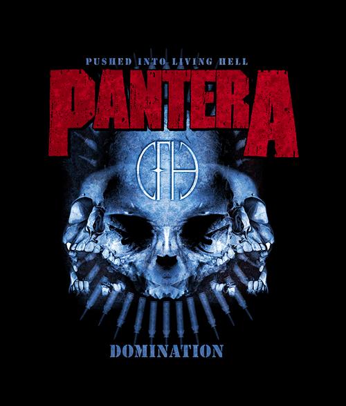 Pantera Domination T Shirt Size Xs S M L Xl 2xl 3xl T Shirt Of The Day Tshirtsfever Pantera Metal Band Logos Album Cover Art