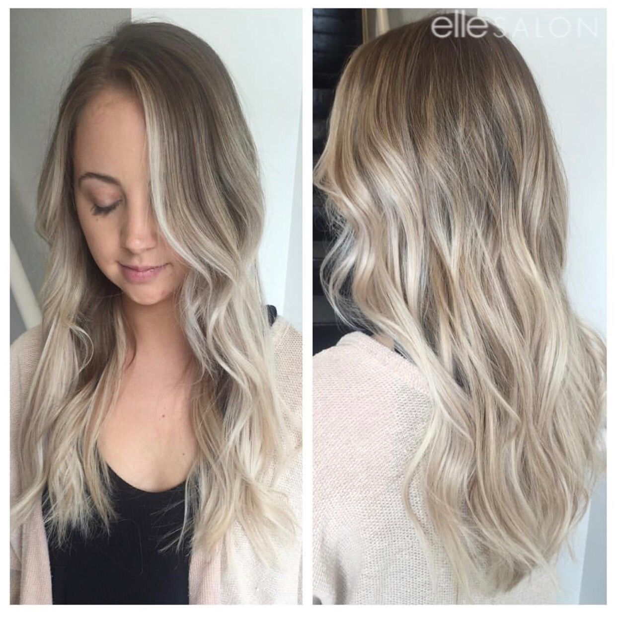 Blonde and beautiful! Hair by @hairby_ashleya ⠀