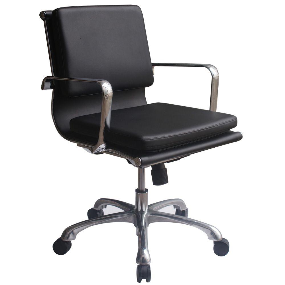 woodstock hendrix mid back black chair www mbilv com mbilv