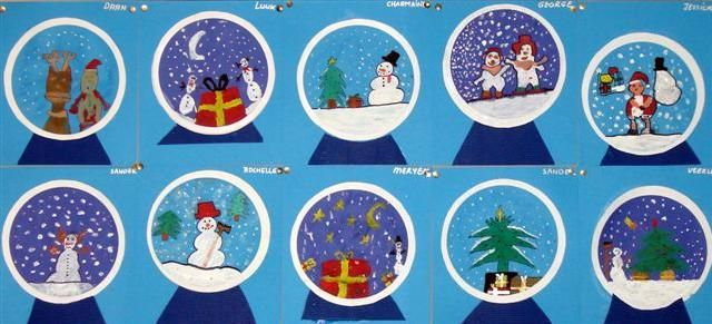 sneeuwbollen sneeuwbol knutselen knutselen winter