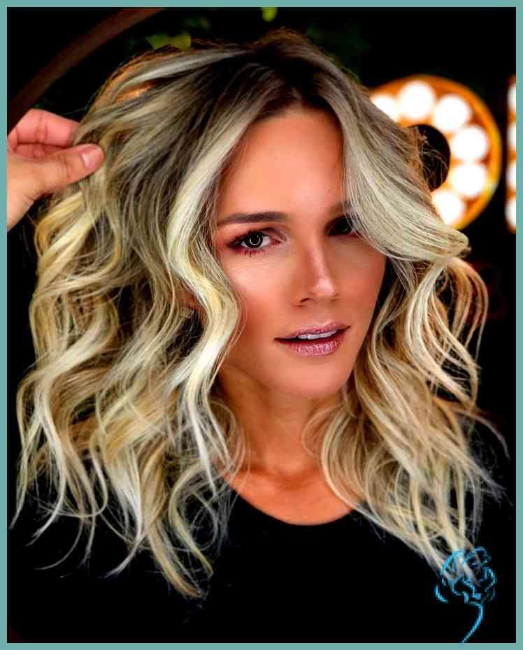 Erstaunlich Von Schulterlange Lockige Haare 10 Trend Frisur Frisur Da Festliche Frisuren Mittellange Haare Frisuren Mittellanges Haar Mittellange Haare