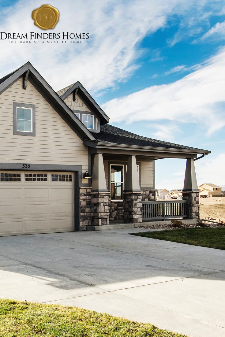 San Juan Floorplan Available From Dream Finders Homes In High Plains Home House Styles Building A House