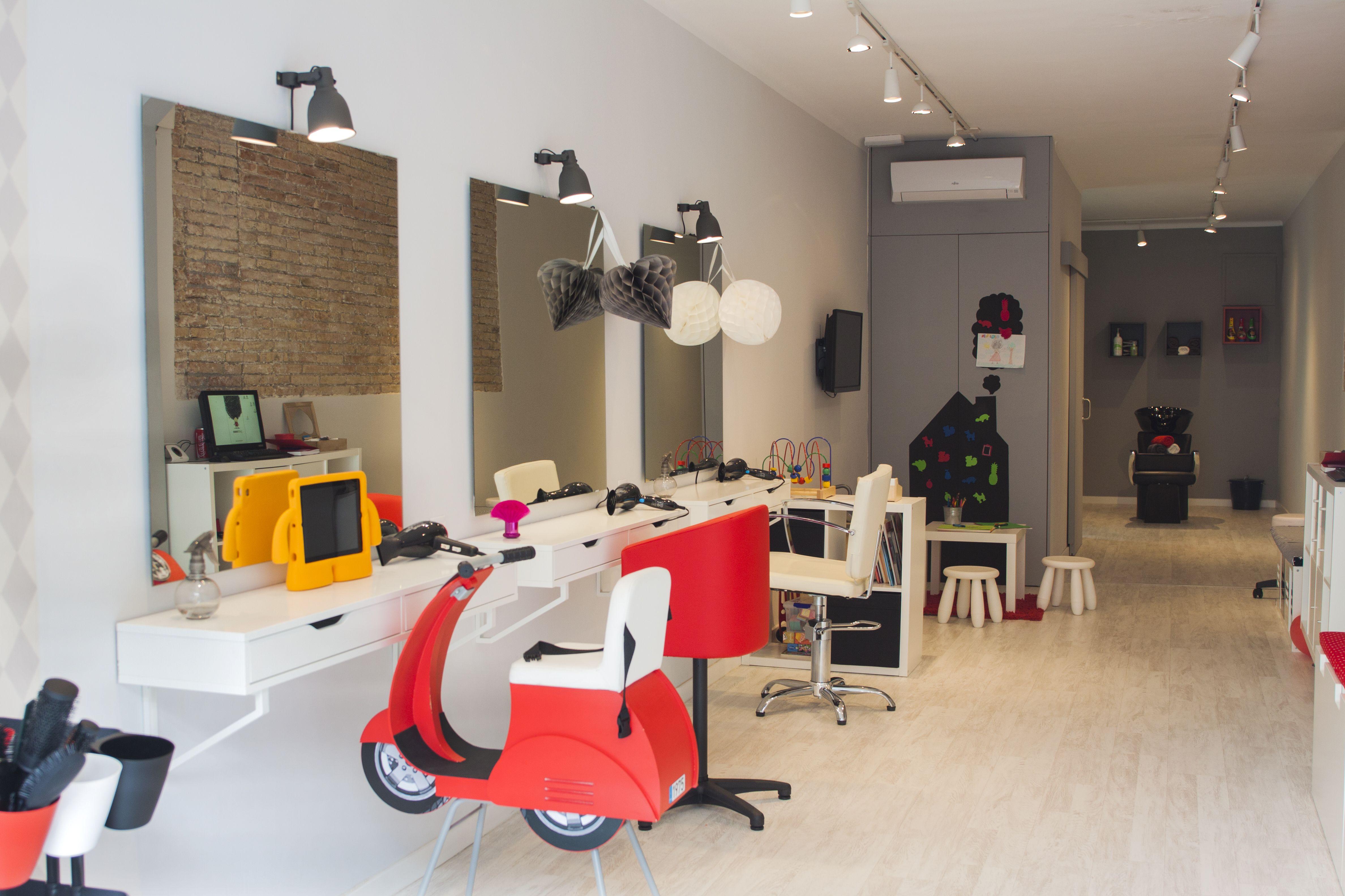 Peluquería Infantil En Barcelona Childrens Salon Kids Salon Kids Barber
