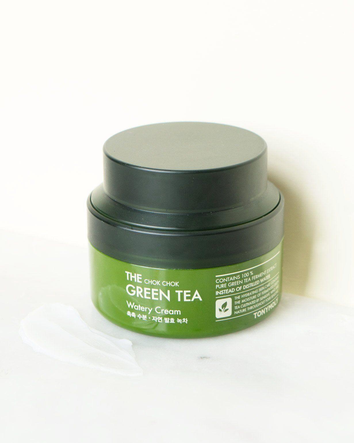 Green tea facial creme