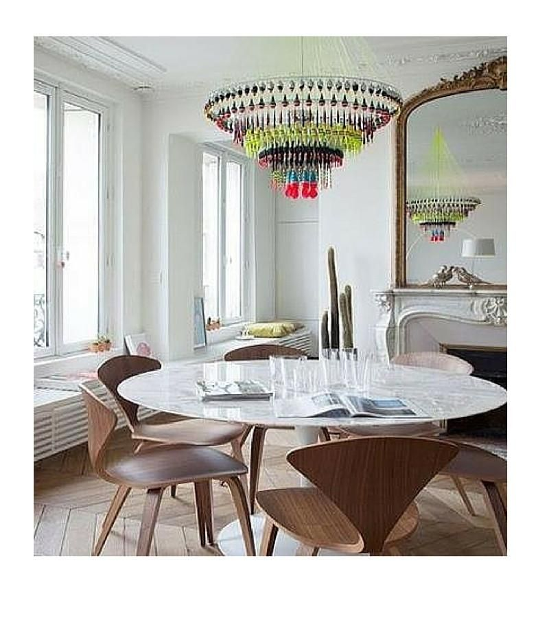 Carrara Marble Tulip Dining Table In Choice Of Diameter Dining