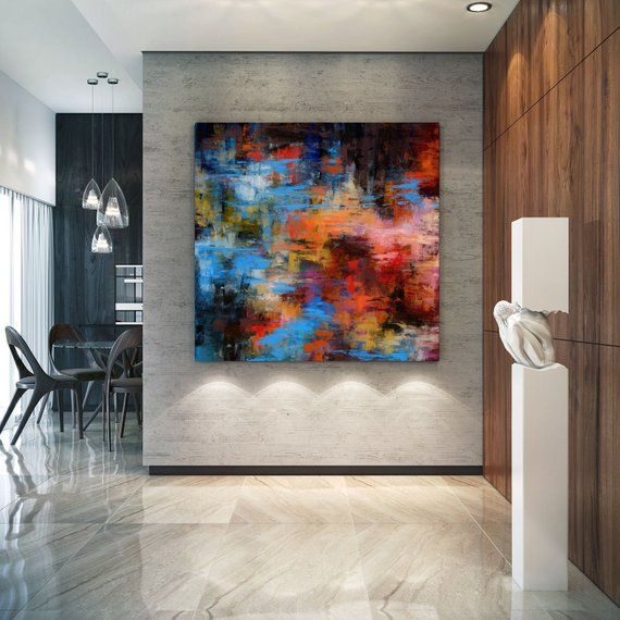 Extra Large Wall Art Palette Knife Artwork Original Painting Painting On Canvas Modern Wall Decor Contemporary Art Abstract Painting Pac356 Large Abstract Wall Art Extra Large Wall Art Large Wall Art