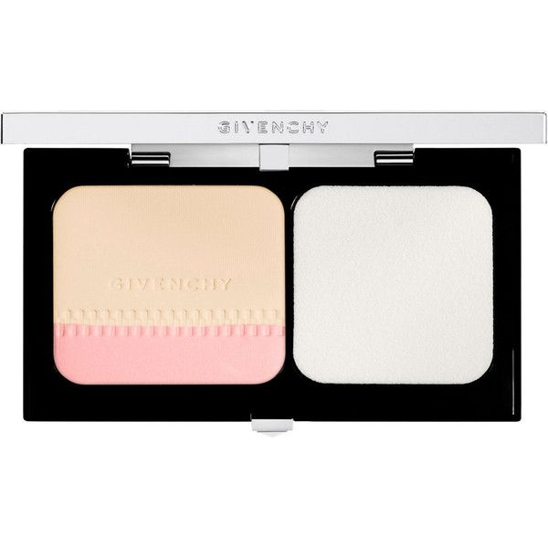 Givenchy Beauty Women's Teint Couture Long-Wearing Compact Foundation (225 BRL) ❤ liked on Polyvore featuring beauty products, makeup, face makeup, foundation, beauty, colorless, long wear foundation, givenchy, givenchy foundation and spf foundation