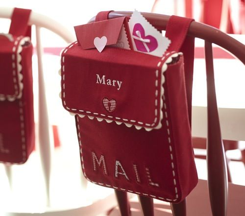 cuter bag for the valentine love notes idea: