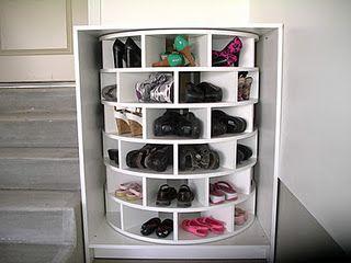 Lazy Susan Shoe Rack Interesting Tutorial On How To Build That Awesome Lazy Susan Shoe Rack  Lazy Design Ideas