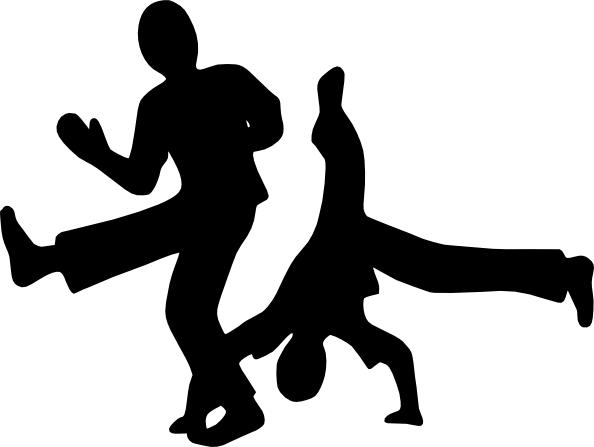 dancers clip art vector silhouette pinterest free clipart rh pinterest com hip hop dancer clip art free hip hop dance images clip art
