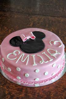 Homemade by MI: Emilian Minnikakku / Emilia's Minnie cake
