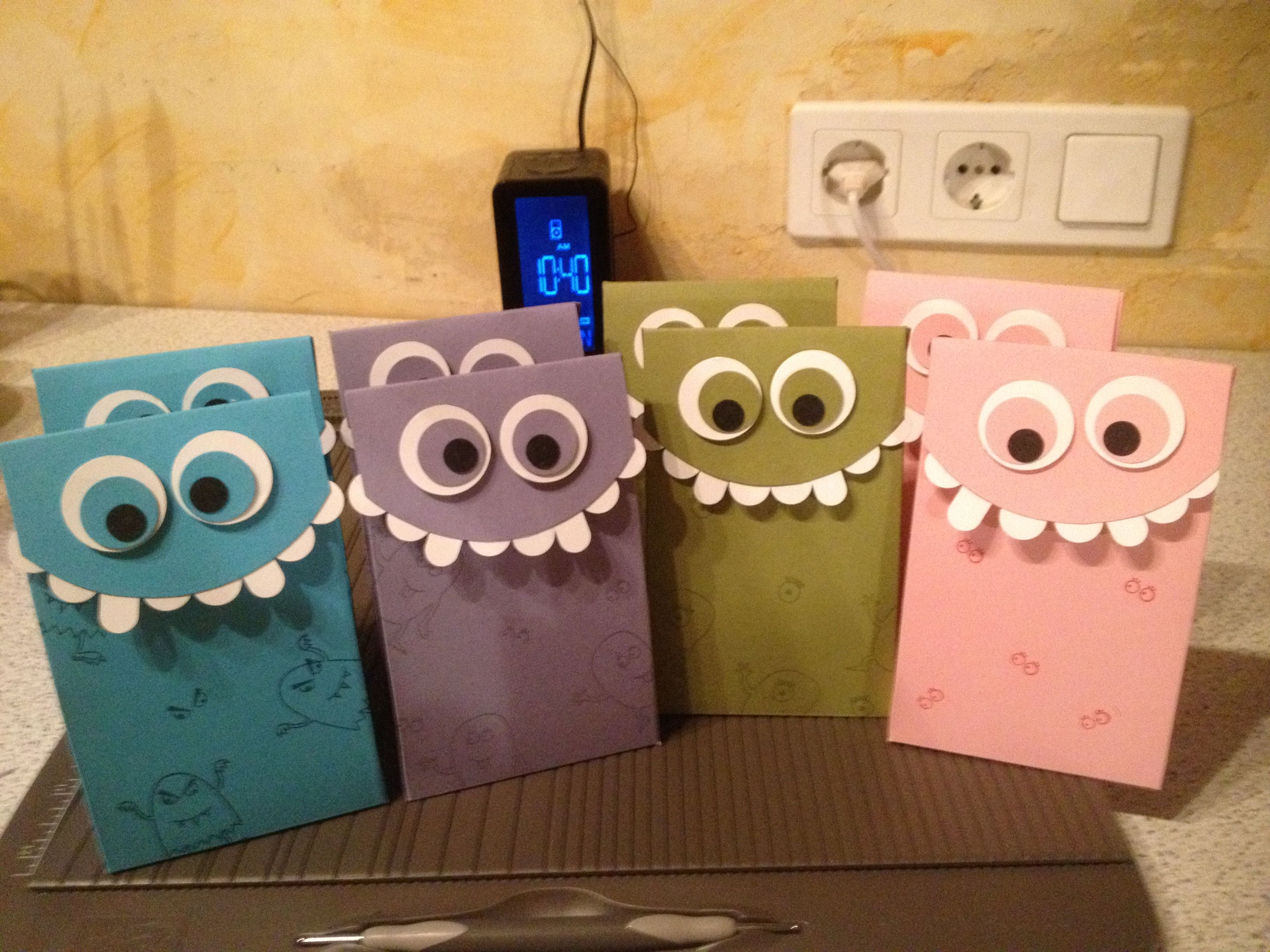 MonsterBacke Stampin Up Monster Geburtstag Party