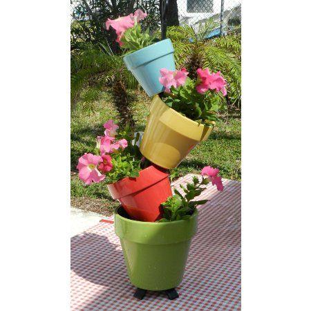 Fresh Balcony Flower Pots