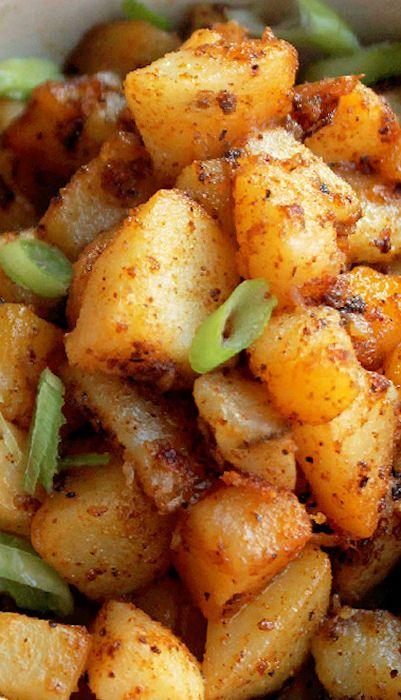Spicy Creole Potatoes Cajun Recipes Cooking Recipes