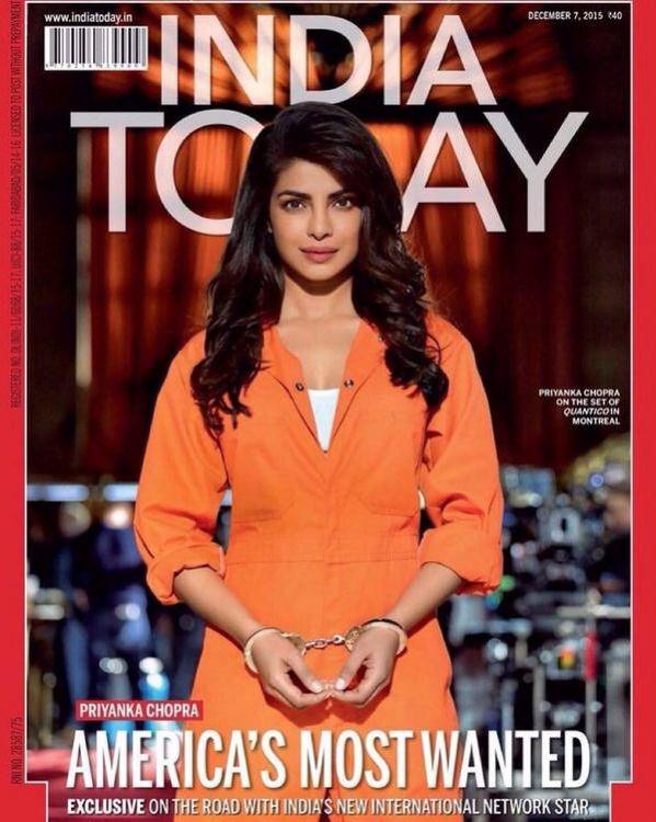 American S Most Wanted Priyanka Chopra Covers Indiatoday Priyanka Chopra Chopra Bollywood Celebrities