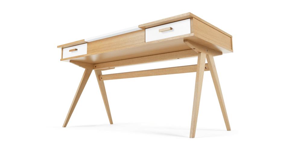 Stroller un bureau blanc in bed design