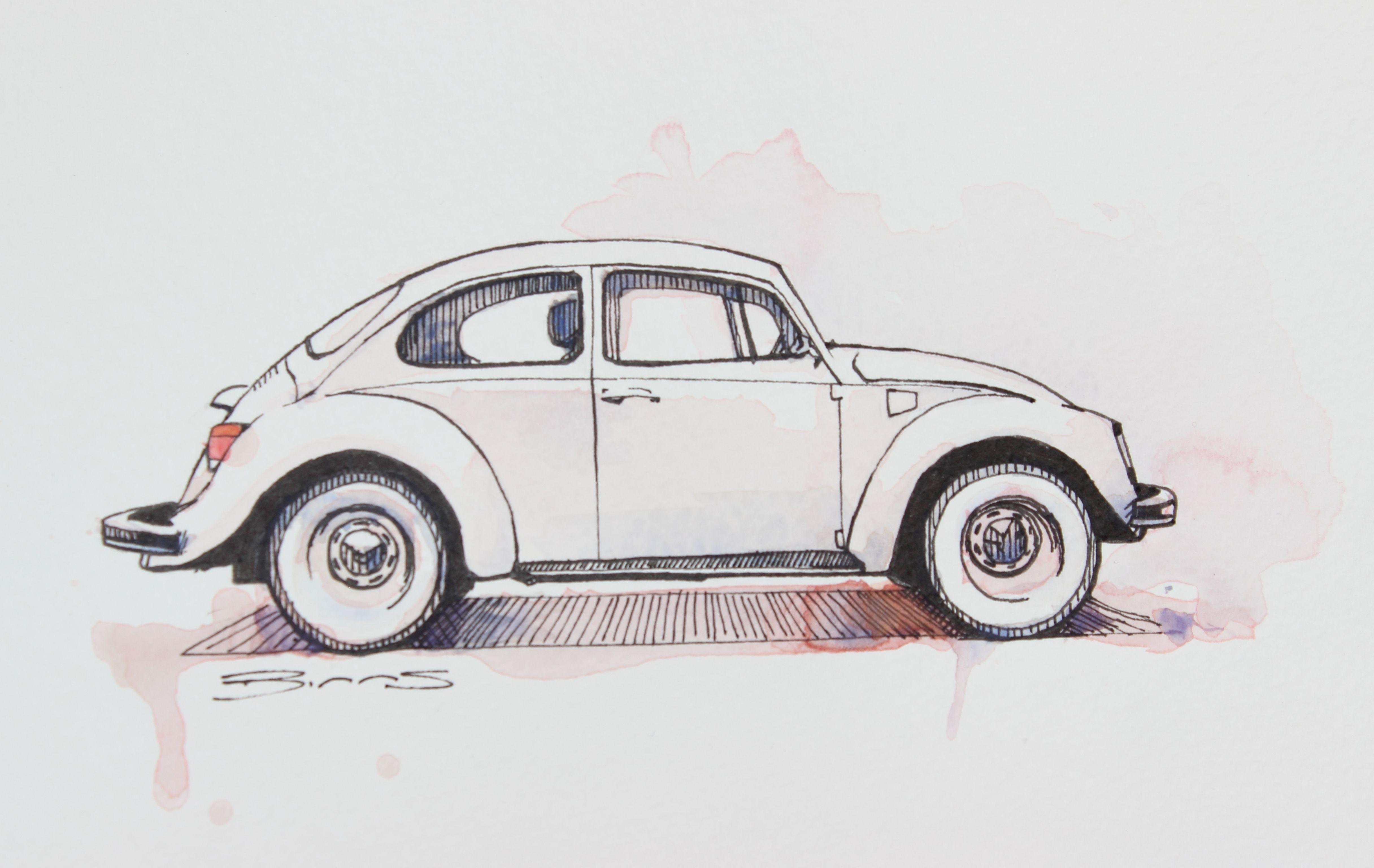 Vw Beetle By Dan Binns