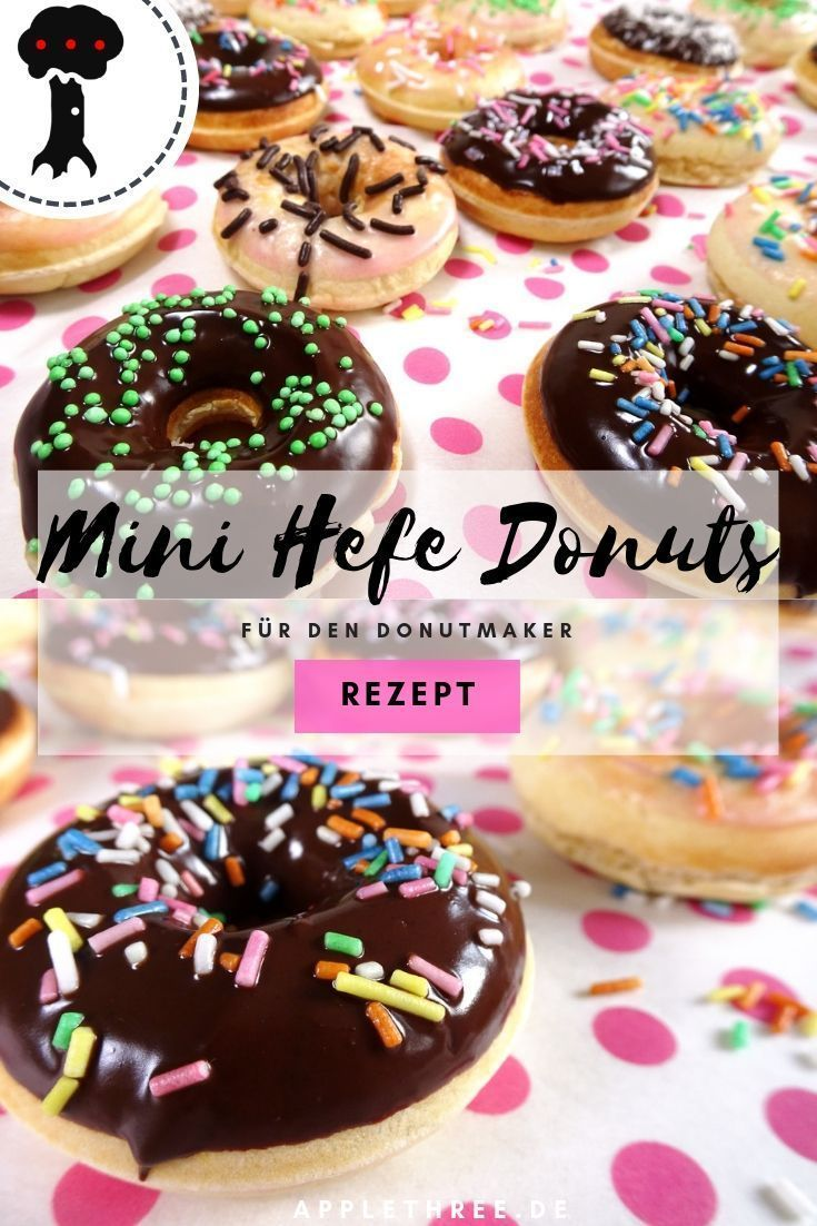 Hefe Donuts Rezept luftig - Applethree | Food, Travel & Life
