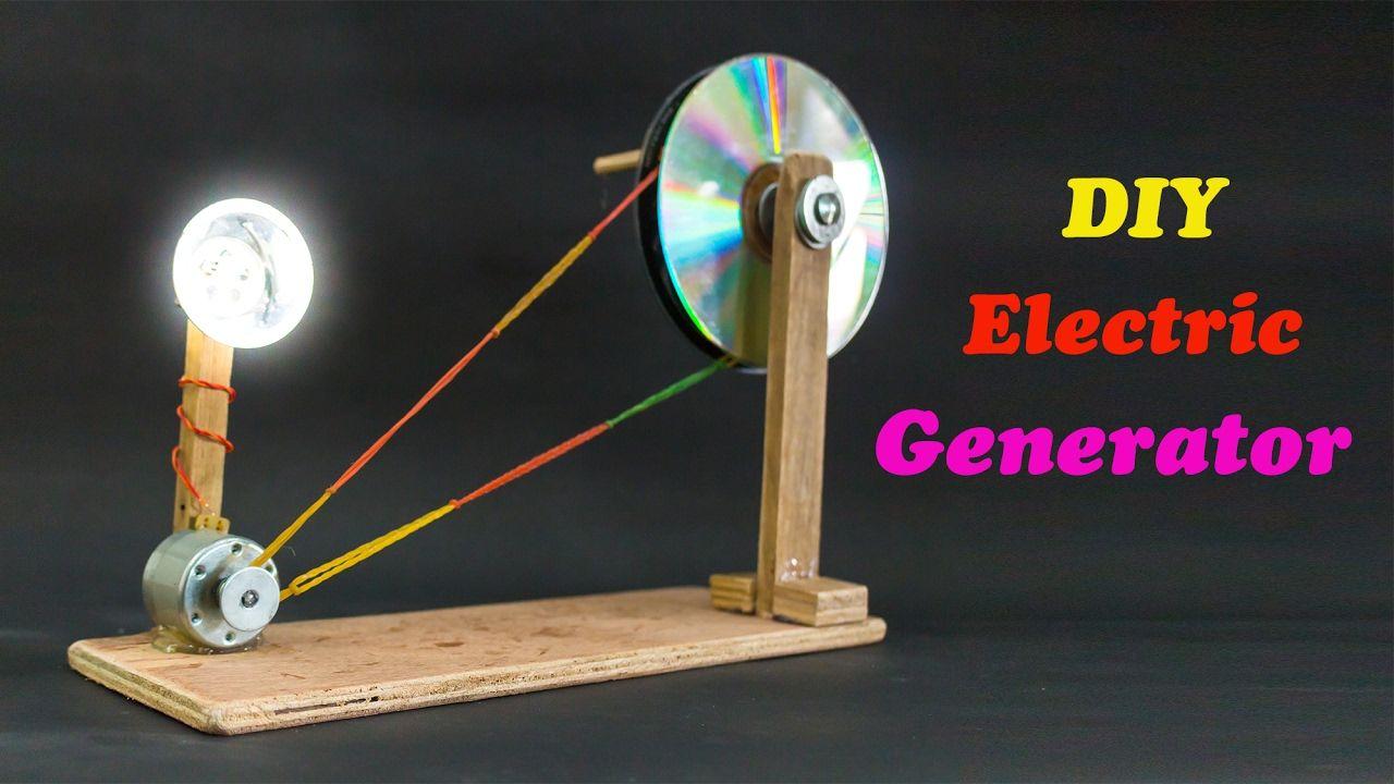 School Science Projects Electric Generator Craft Idea Homopolar Motor Explanation Electrical Measurement