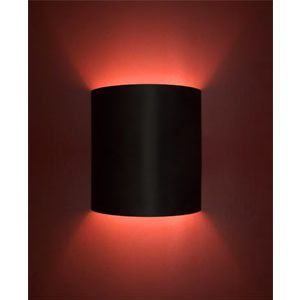 Plain Black Home Theater Wall Sconce Mart 139