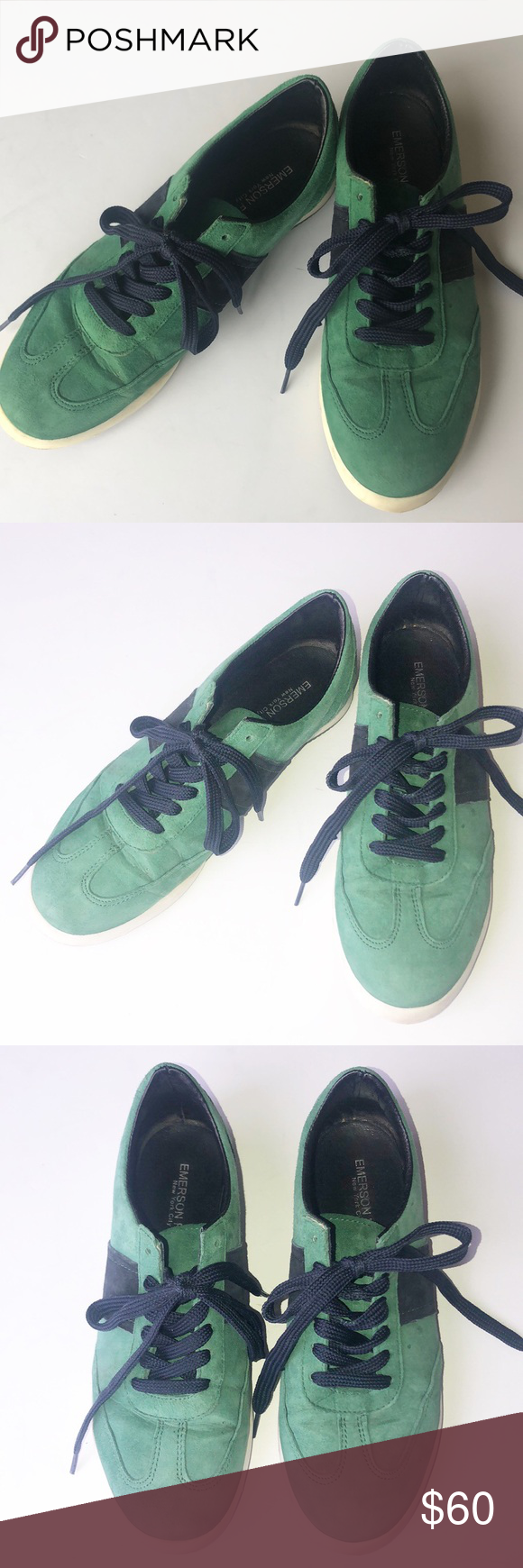 Emerson Fry NYC green/Navy sneakers 7 Worn only once, these are in EUC.  Emerson Fry green/Navy sneakers in size 7. Please ask all questions prior to purchasing.  I ❤️ offers!!! Emerson Fry Shoes Athletic Shoes #emersonfry Emerson Fry NYC green/Navy sneakers 7 Worn only once, these are in EUC.  Emerson Fry green/Navy sneakers in size 7. Please ask all questions prior to purchasing.  I ❤️ offers!!! Emerson Fry Shoes Athletic Shoes #emersonfry Emerson Fry NYC green/Navy sneakers 7 Worn onl #emersonfry