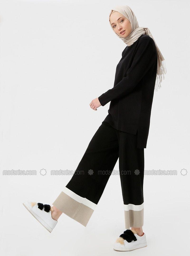 أسود بنطلون Black Pants Fashion Normcore