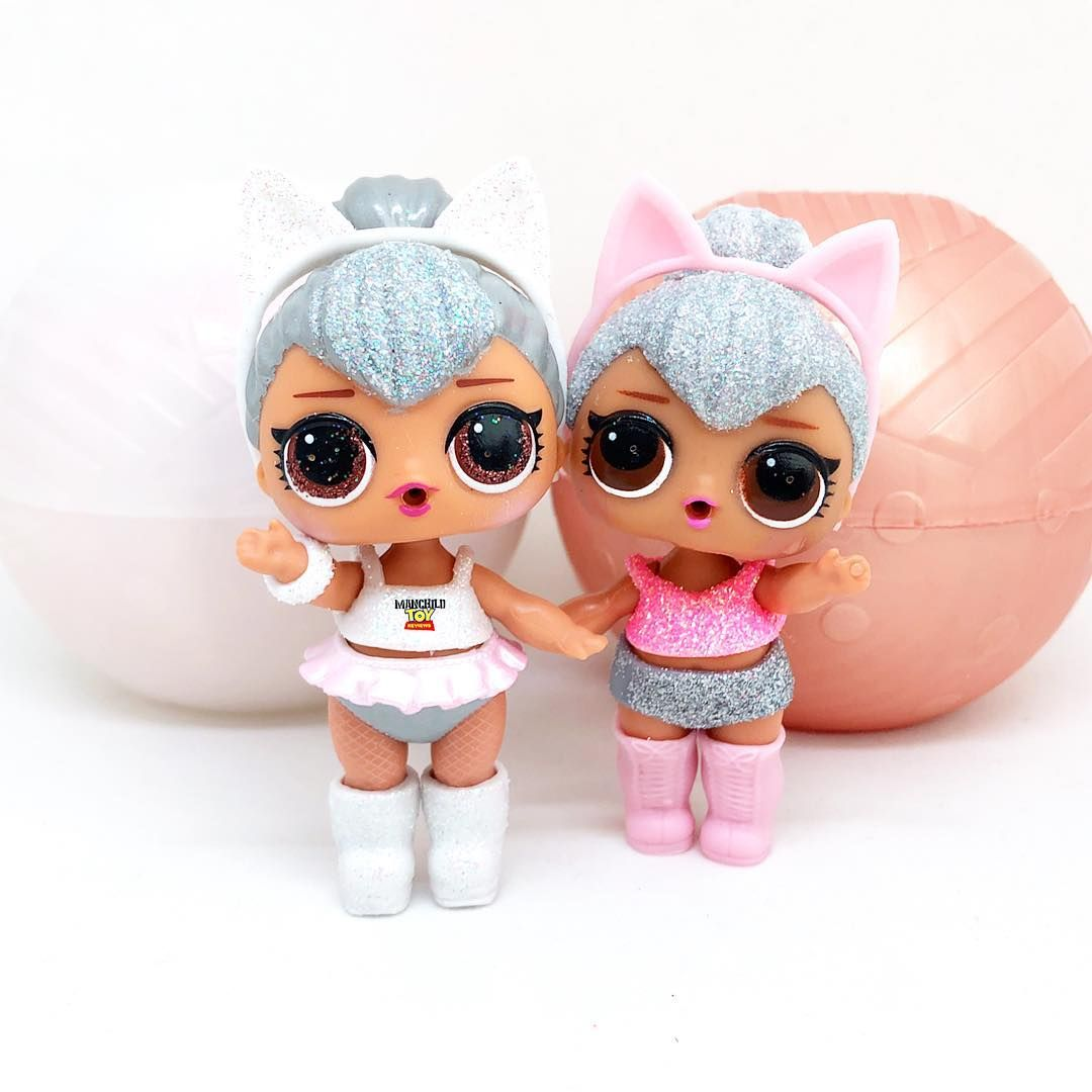 Seeing Double Left Or Right Which Is Your Favourite Original Series 2 Kitty Queen Or Glam Glitter Series Kitty Quee Lol Dolls Barbie Toys Little Pet Shop