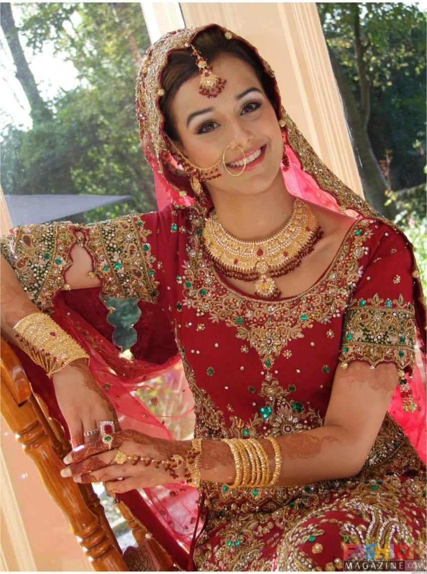 Worst makeup mistakes on your wedding indian bridal diaries - Information About Indian Bridal Wear Design And Color Schemes