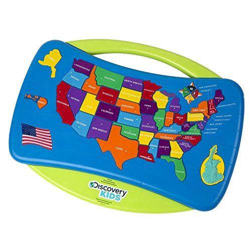 Discovery Kids Talking USA Puzzle Details Can Be Found By - Best us map puzzle for kids