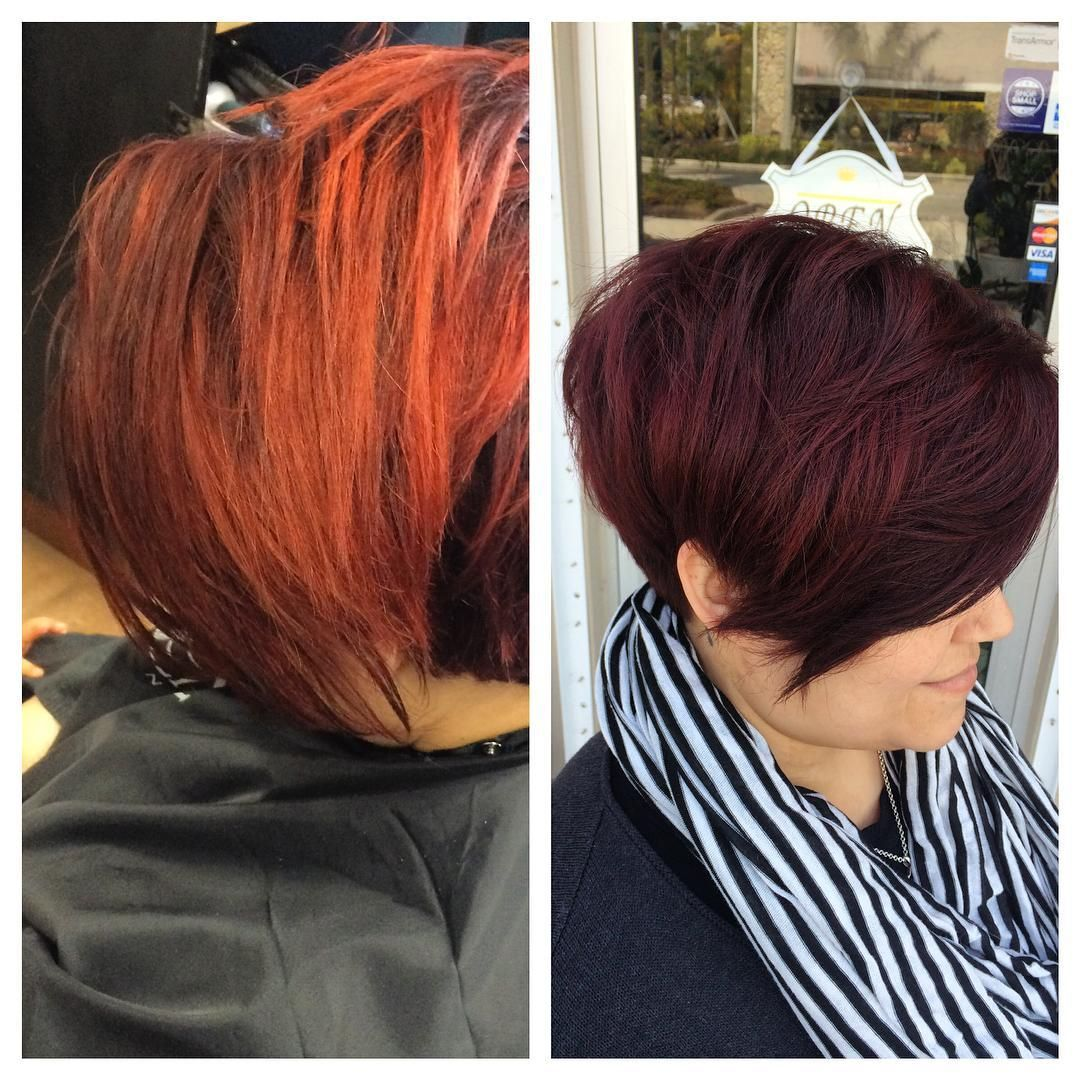 Really happy with this color change on my friend anabel today too