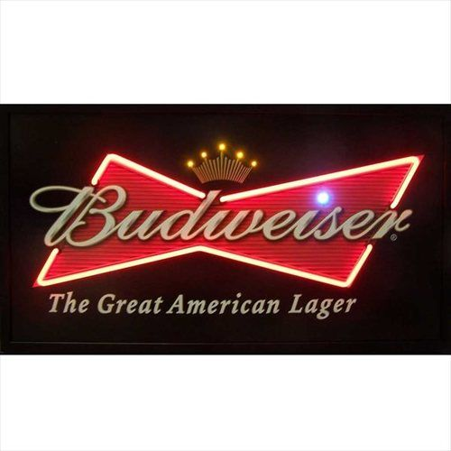 Budweiser The Great American Lager Lighted NEON LED Picture