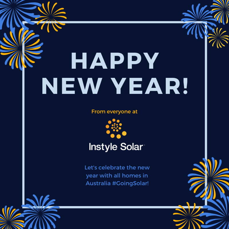 Happy New Year from InstyleSolar! May this year see a