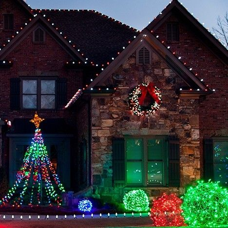 christmas light balls are extremely popular outdoor christmas decorations that are unique in appearance many