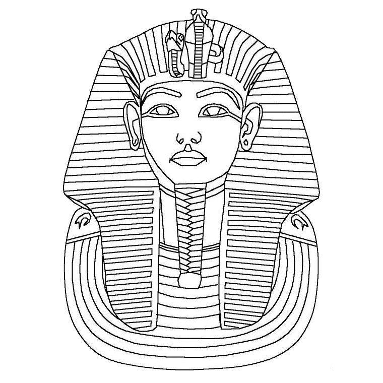 egyptian party printable ancient egypt coloring pages for kids - Ancient Egypt Mummy Coloring Pages