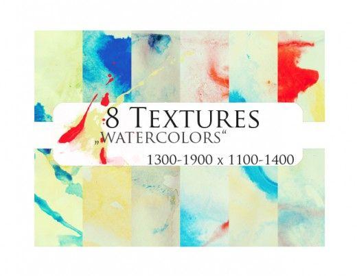 Watercolor Splashes Photoshop Action Photoshop Actions