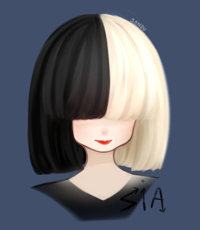 Drawing Uploaded By Pinktea On PaigeeWorld Sia Thisisacting Painting