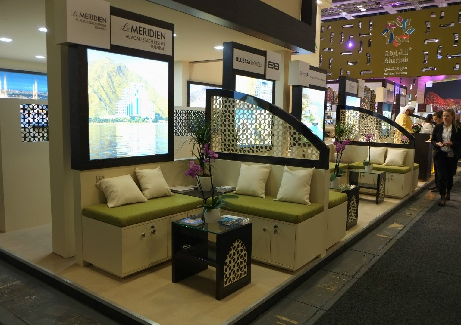 Fujairah Tourism Stand Design Build Delivers By Focusdirect At ITB BERLIN 2017
