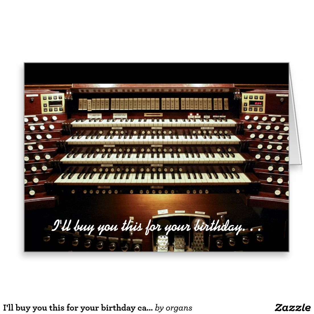 I Ll Buy You This For Your Birthday Card Musicians