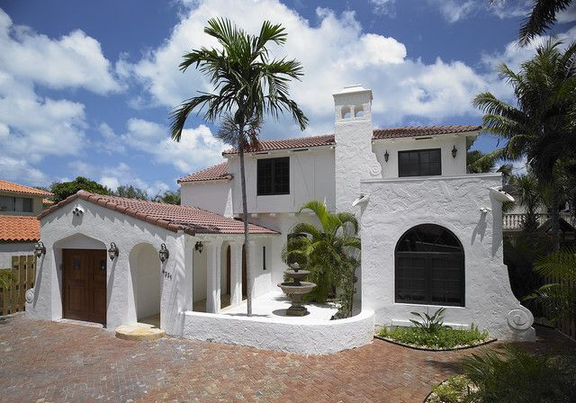 White Stucco Homes white house red tile roof - google search | home facades